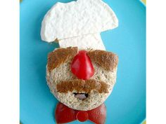 Swedish Chef sandwich!