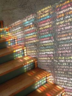 """Inception"" Door - Armin Blasbichler. Based on Pantone color chart. Part 2"