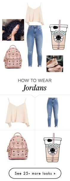"""""""Untitled #172"""" by liyahbaby536 on Polyvore featuring Topshop and MCM"""