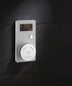 Bring digital technology into your bathroom - Elite Digital Controller in White from Crosswater. http://www.crosswater.co.uk/digital-showering/prices/elite/index.html#luxury