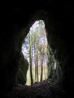 3. Erkundungstour am 26.04.13 zum Höhlenlauf. Mehr zum Höhlenlauf: http://trampelpfad.net/hoehlenlauf.htm