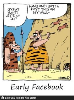 Prehistoric Facebook :D