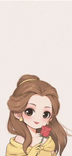 Cellphone Wallpaper, I Wallpaper, Disney Wallpaper, Phone Wallpapers, Disney Princesses, Disney Characters, Fictional Characters, Belle And Adam, Girly Drawings