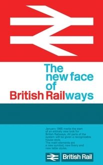British Rail's double-arrow logo, by the Design Research Unit Railway Posters, Travel Posters, Transport Posters, Logo Design Liebe, Arrow Logo, Train Pictures, British Rail, Typographic Poster, Design Research