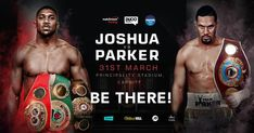 Joshua vs Parker... Be there!!!    VIP Supporters Tour! Limited availability. Be quick!!!!     opportunity to be part of history in Cardiff with an incredible 'VIP Experience' at the biggest sporting event for a New Zealander this century! Anthony Joshua vs Joseph Parker, LIVE at Principality Stadium in Cardiff, Wales on Saturday 31 March (local time).    Package Includes:  • Return economy class airfares with Singapore Airlines (departing Auckland on Tuesday 27th March and returning…
