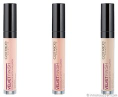 Catrice Velvet Finish Concealer with Hyaluron, 4,5€. August 2014.