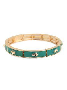 Teal Mori Bracelet, $26