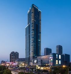 Hotel opened June 2018: Ascott Harmony City Nantong | China