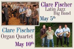 Look for Brent Fischer + The Clare Fischer Bands next time you're in Los Angeles. Great music!