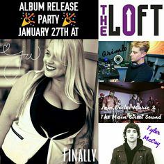 Jenn Whitlock is releasing her debut album JANUARY 27TH at The Loft in Dallas, TX Come join us!