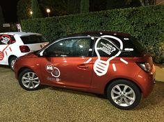 Festa del primo anno di attività. Cars: OPEL ADAM.