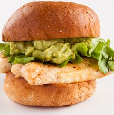 Use any firm fish you'd like in Cajun Grouper Sandwiches. They're great with guac, but tartar sauce is just fine too.