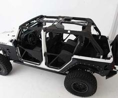 Truck Accessories And Jeep Accessories By Central 4 Wheel Drive    Smittybilt SRC Cage Kit   Jeep Jk Wrangler Unlimited