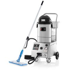 Reliable Tandem Pro Commercial Steam and Vacuum Cleaner, Grays