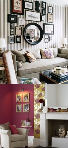 How to decorate your walls with pictures