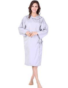 XMW Professional Hairdressing Kimono, Light Grey * Visit the image link more details.