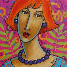 Painting People, Woman Painting, Portraits, Portrait Art, Art Decor, Decoration, Atelier D Art, Painting Workshop, Art Model