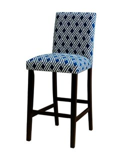 This #highlow barstool looks great in blue // #hgtvmagazine http://www.hgtv.com/design/decorating/design-101/high-low-pairs-youll-love-pictures?soc=pinterest