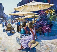 Howard Behrens - Flower Market