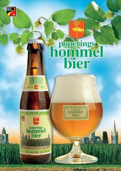 Poperings Hommelbier, Belgian beer from Poperingen (Province of West-Vlaanderen)