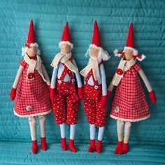 bonecas tilda de natal