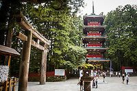 5-story pagoda at Nikko Toshogu shrine (1617 CE) Japan