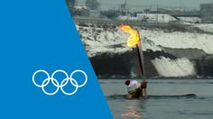 Published on Feb 5, 2014 youtube    Follow the incredible journey into space and underwater of the Olympic Torch as it makes it's way to the Opening Ceremony of the Sochi 2014 Winter Olympics.