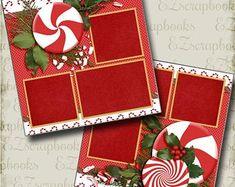 Paper Bag Scrapbook, Christmas Scrapbook Layouts, Album Scrapbook, Scrapbook Sketches, Scrapbook Page Layouts, Scrapbook Supplies, Scrapbook Organization, Scrapbook Images, Kids Scrapbook