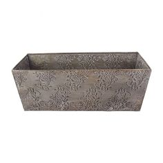 Jardin Rose Metal Planter Small - Metalware - Homewares