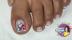 Uñas Pedicure Nail Art, Toe Nail Art, Manicure, Magic Nails, Feet Nails, Beauty Nails, Nail Art Designs, Tattoos, Pretty