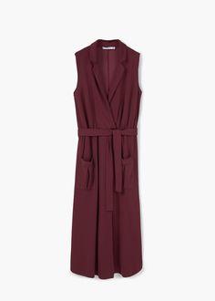 Belt gown