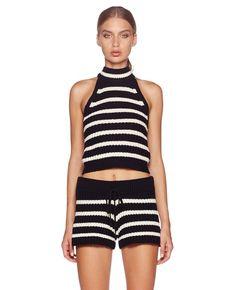 Lou Lou Knit Top || Bec Tankini, Gym Shorts Womens, Knitting, Womens Fashion, Swimwear, Tops, Bathing Suits, Swimsuits, Tricot