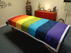 Reiki Healing Blanket Quilt Positive Energy Chakra Comfort Reiki Treatment