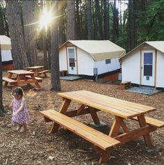 This brand new campground was built from the ground-up by a pair of enterprising parents, and it's got absolutely everything a family needs to have an easy, extraordinary commune with nature.