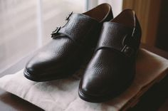 HANDMADE BROGUES - DOUBLE MONK STRAP