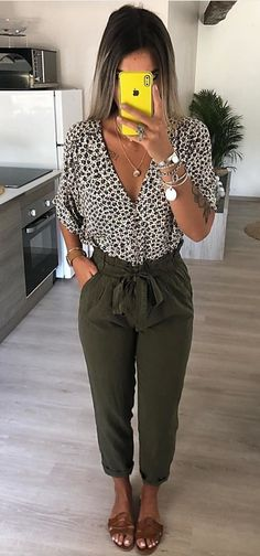 gray pants #summer #outfits