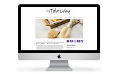 Tula Living's website by Smack Bang Designs.  #WebsiteDesign #branding #design #website #SmackBangDesigns