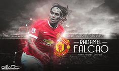 Another awesome fan edit #mufc Radamel ' EL Tigre' Falcao