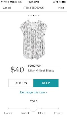I finally gave Stitch Fix a try and love it! Please use my referral code if you want to try it too. https://www.stitchfix.com/referral/12665578?sod=w&som=c&str=15321