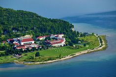 Stay somewhere like Mackinac Island where there are no cars, even a few days