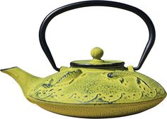 Old Dutch Ogon Koi Stainless Steel & Porcelain Teapot