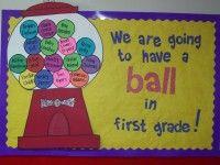 Preschool, Kindergarten and Elementary Back To School Bulletin Board