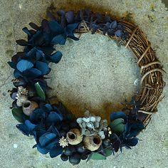"""Xmas Wreath """"S"""" Dark by geckou"""