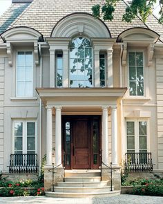 classic project - traditional - exterior - toronto - SKR Homes