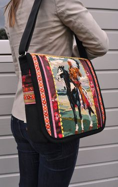 Dutch sisters bag with indian by dutchsisters on Etsy