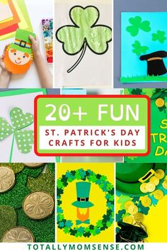 Need some fun St. Patrick's Day crafts for your kids or classroom? Find these 20+ creative and easy St. Patrick's Day crafts that kids will love. #stpatricksdaycrafts #stpatricksday #stpatricksdaycraftsforkids #stpatricksdayactivitiesforkids #kidactivities #kidsartsandcrafts #kidcraftsforstpatricksday #stpatrickdayactivities #irish #ireland #stpattysday #green #luckoftheirish #shamrock #stpaddysday #stpatrick #saintpatricksday #lucky #happystpatricksday #stpatricksdayparade #clover Kids Activities At Home, Toddler Learning Activities, Craft Activities, Geography Activities, St Patricks Day Crafts For Kids, St Patrick's Day Crafts, Fun Crafts, Holiday Crafts, Holiday Ideas