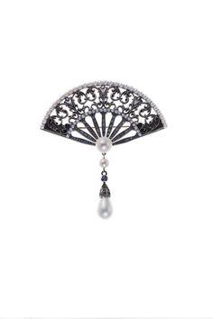 Axenoff Jewellery » Brooch «The Fan»