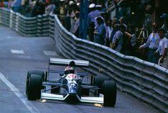 f1pictures: Jean Alesi Tyrrell - Ford Monaco 1990
