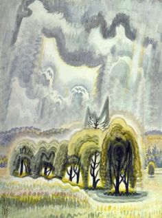 CHARLES BURCHFIELD Midsummer Afternoon (1952)
