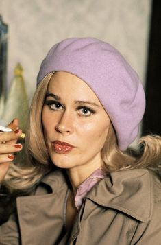 Karen Black photographed by Steve Schapiro during the filming of The Great Gatsby, 1973. Karen Black, The Great Gatsby, Independent Films, American Actress, Winter Hats, Singer, Actresses, Hollywood Star, Faces